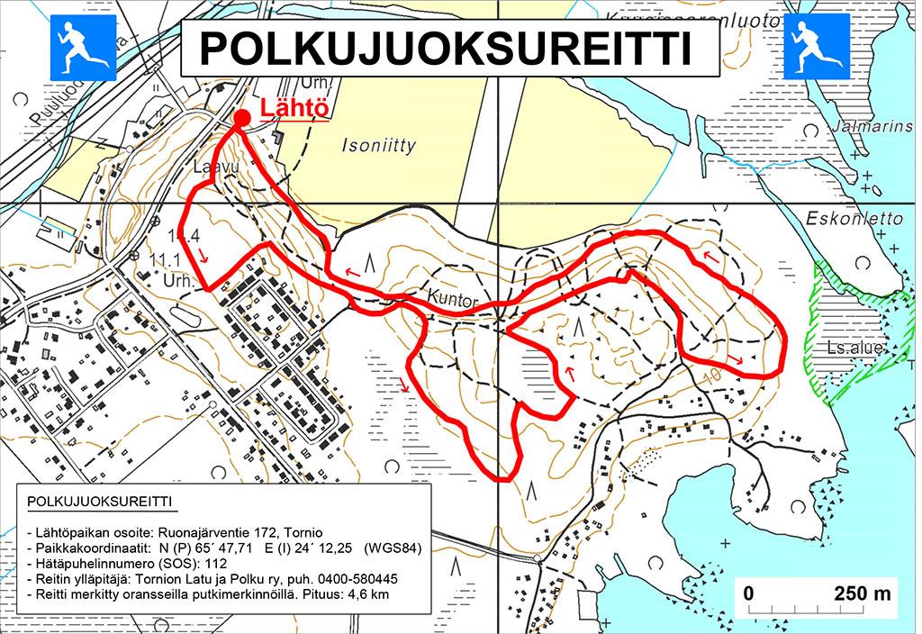 Kuntopolut Ja Hiihtoladut Tornio