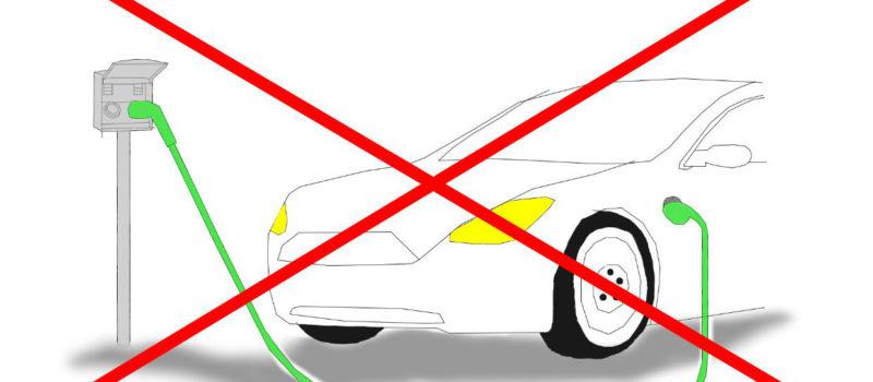 Sähköautojen lataus kielletty kaupungin autolämmityspistorasioissa