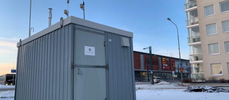 Mittaukset antavat tietoa Tornion ilmanlaadusta kahdessa mittauspisteessä
