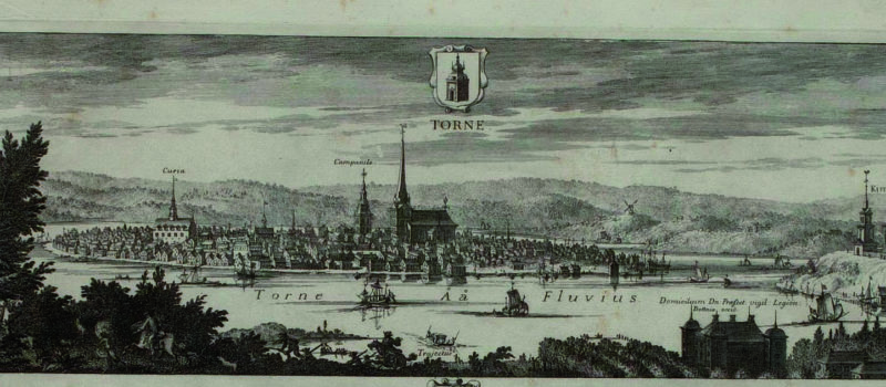 Tornion vuosikymmenet – 1670-luku: Puukojujen kaupunki