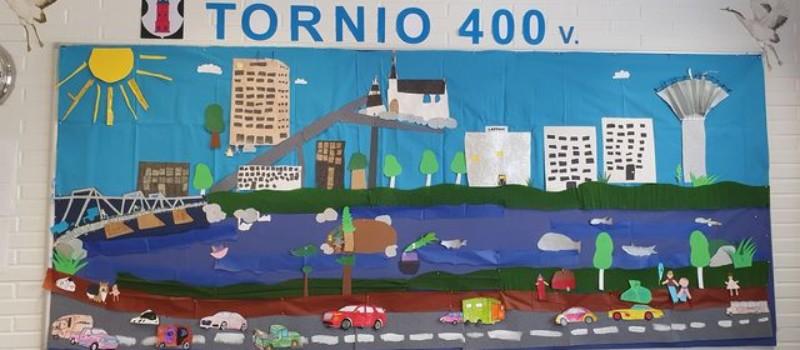 Lapset ympäri Tornion onnittelevat 400-vuotiasta kotikaupunkia