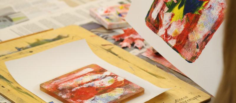 Aineen taidemuseossa avoin taidetyöpaja kesäperjantaisin klo 11-15